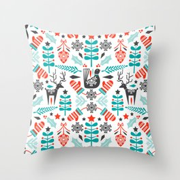 Hygge Holiday Throw Pillow