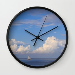 Sea And Sky In Holland Wall Clock