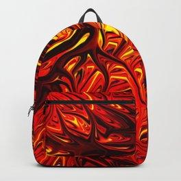 Molten Firegrass V by Chris Sparks Backpack