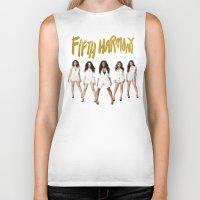 fifth harmony Biker Tanks featuring Fifth Harmony Boss by TSMM