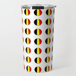 Flag of belgium 7 belgian,belge,belgique,bruxelles,Tintin,Simenon,Europe,Charleroi,Anvers,Maeterlinc Travel Mug