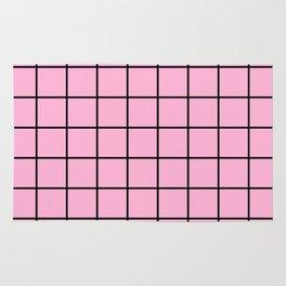 Rose Quartz Grid Rug