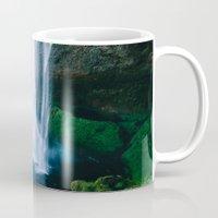 waterfall Mugs featuring Waterfall by StayWild