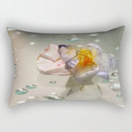 miss clapham's wild crocus Rectangular Pillow