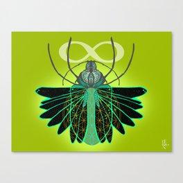Scarab Canvas Print