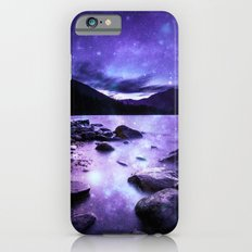 Magical Mountain Lake Purple Slim Case iPhone 6