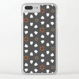 Print 116 - Halloween Clear iPhone Case