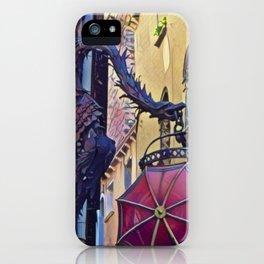 Venetian Dragon iPhone Case
