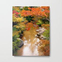 Japanese palette of colors Metal Print