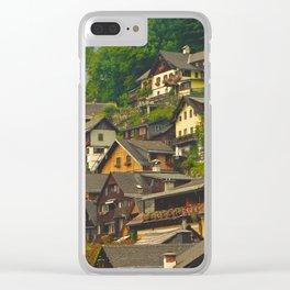 Belvedere Terraces Clear iPhone Case