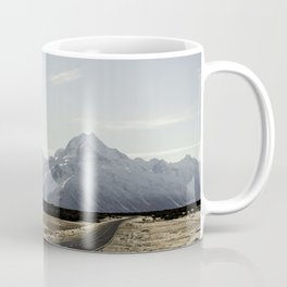 On the road to Mt. Cook Coffee Mug