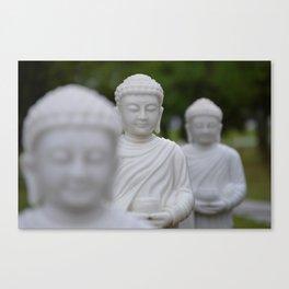 BUDDHAS Canvas Print