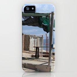 Fisherman's Huts Ibiza Spain iPhone Case