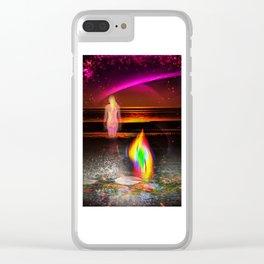 Sunrise 4 Clear iPhone Case