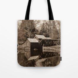 Mabry Mill (Sepia) Tote Bag