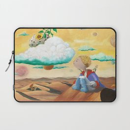 Little Prince with sunflower Laptop Sleeve