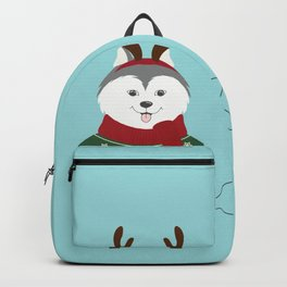 Happy Pet in Ugly Christmas Sweaters Backpack