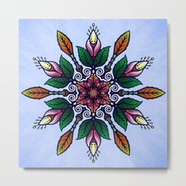 Flower Mandala 1 Metal Print