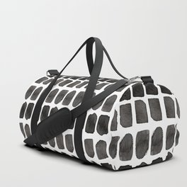 abstract / ink pattern Duffle Bag