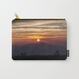 Sunrise in the mountain Carry-All Pouch