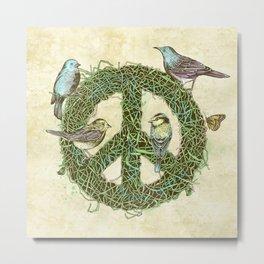 Peace Talks Metal Print