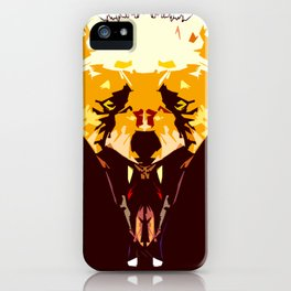 Wolf Icon 02 iPhone Case