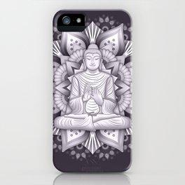 Black Mandala iPhone Case