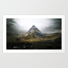Forgotten World: Gizeh Art Print
