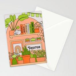 Taurus Desert Rainbow Stationery Cards