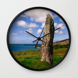 Old Stone Wall Clock