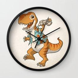 Just Keep Flying Wall Clock