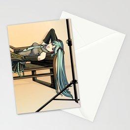 Studio Shoot  (Miku Version) Stationery Cards