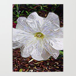 Enchanted Flower Poster