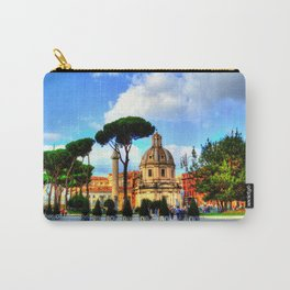 Beautiful Rome Carry-All Pouch