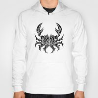 cancer Hoodies featuring Cancer by Mario Sayavedra