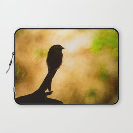 Chickadee Bokeh Laptop Sleeve