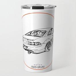 Crazy Car Art 0205 Travel Mug