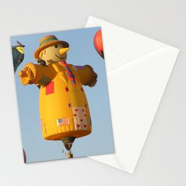 Scare Crow Balloon Stationery Cards