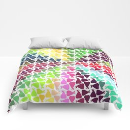 Pear frenzy Comforters