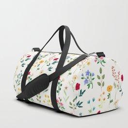 Spring Botanicals Duffle Bag