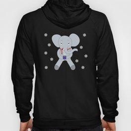 Winter Elephant Hoody