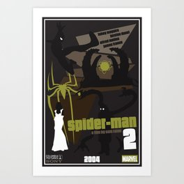 Spider-man 2 Poster Art Print