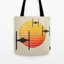 design tie fighters Tote Bag