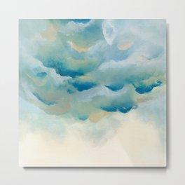 Cloudy night Metal Print