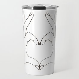 Love Heart Travel Mug