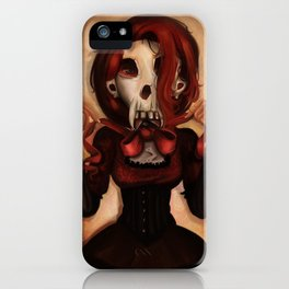 Skull Theatre iPhone Case
