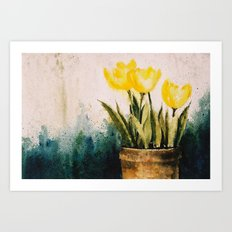Tulipes Art Print