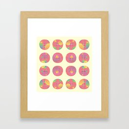Dots of Dots Framed Art Print