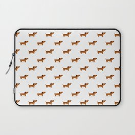 Watercolor Dachshund Weiner Dog Laptop Sleeve