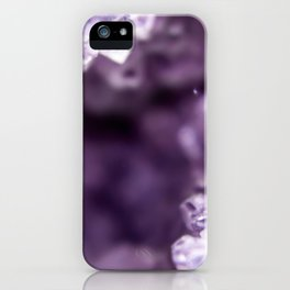 Mystical Amethyst iPhone Case